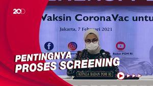 Wanti-wanti BPOM soal Vaksinasi Corona Sinovac Pada Lansia