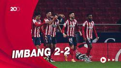 Atletico Ditahan Imbang Celta Vigo, Suarez Dua Gol