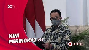 Di Depan Jokowi, Anies Pamer Jakarta Keluar Dari 10 Besar Kota Termacet