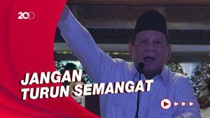 Prabowo ke Kader Gerindra: Kita Belum Berkuasa Mutlak