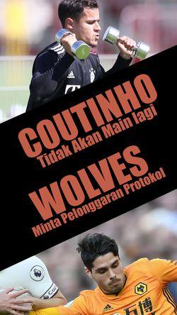 Coutinho Tidak Akan Main Lagi, De Bruyne Kesal Dengan Manchester City