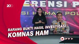 Polri Minta Barbuk Investigasi Komnas HAM Terkait Tewasnya Laskar FPI