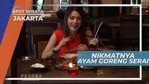 Ayam Goreng Serai, Kuliner Kemang Jakarta yang Kremesnya Aduhaii..