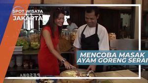 Mencoba Masak Ayam Goreng Serai Di Kemang Jakarta