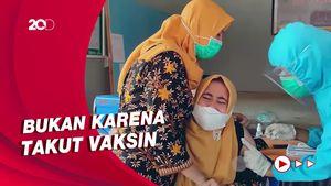 Dokter di Sulbar Histeris Saat Vaksinasi Corona Gegara Fobia Jarum