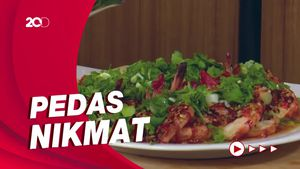 Masak Masak: Resep Bihun Udang Kukus dengan Minyak Cabai