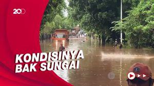 Begini Penampakan Banjir di Jl TB Simatupang Jaksel