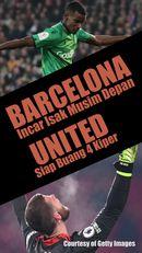 Barcelona Incar Striker Gantikan Suarez, United Akan Buang 4 Kiper