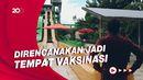 Kenakan Pakaian Adat, Sandiaga Uno Kunjungi Waterbom Bali