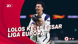 Pesta Gol Tottenham Saat Bantai Wolfsberger 4-0