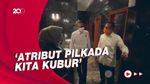 Gubernur Nurdin Terima Silaturahmi Danny-Fatma: Kita Bersatu Kembali