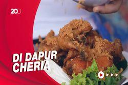 Bikin Laper: Ayam Kremes dan Sambal Daging yang Nagih