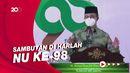 Anies Ajak Warga NU Doakan Jokowi Dimudahkan Lewati Pandemi