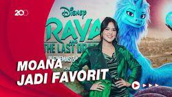 Raisa Excited Kenalkan Karakter-karakter Disney ke Anak