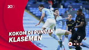 Bek-bek Man City Kalahkan West Ham 2-1