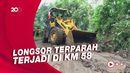 Longsor di 6 Titik Jalur Selatan Lumajang-Malang, Lalin Lumpuh 2 Jam
