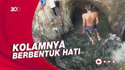 Air Terjun Cinta yang Masih Alami di Sulawesi Barat