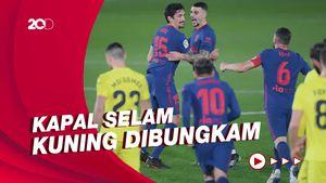 Atletico Gebuk Villarreal 2-0
