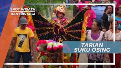 Meriahnya Tarian Pengiring Arak-arakan Pengantin Sunat, Banyuwangi