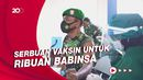Ribuan Babinsa di Solo Jalani Vaksinasi Covid-19 Serentak