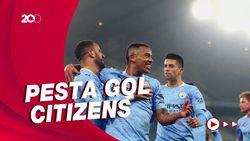 Man City Vs Wolverhampton: Citizens Pesta Gol 4-1