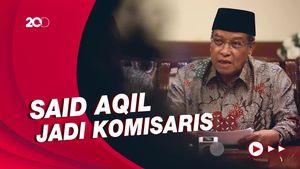 Daftar Lengkap Komisaris KAI, Termasuk Said Aqil
