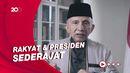 Amien Rais soal Tewasnya Laskar FPI: Pak Jokowi, Buka Dong Pintu Istana