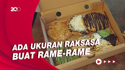Pisang Goreng ala Pizza, Cita Rasa Baru Camilan Unik di Jakarta