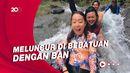 My Trip My Adventure:  Main Wahana Water Slide Alami di Bali