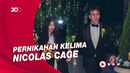 Kebahagiaan Nicolas Cage yang Resmi Persunting Riko Shibata