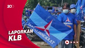 Kawal AHY, Ratusan Kader Demokrat Mulai Padati DPP Demokrat