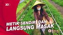 Celebrity on Vacation: Mengunjungi Kebun Stroberi dan Sayuran di Malang