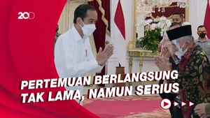 Momen Amien Rais Cs Ketemu Jokowi di Istana Bahas Kasus KM 50