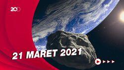 NASA Sebut Asteroid Besar Akan Lintasi Bumi