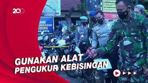 363 Knalpot Bising di Bogor Dimusnahkan