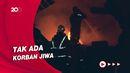 2 Gudang Produksi Pabrik Spring Bed di Makassar Terbakar
