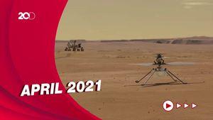 Helikopter NASA Bersiap Terbang Perdana di Mars
