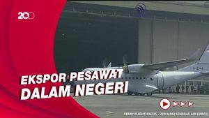 PTDI Ekspor Pesawat CN-235 ke Senegal