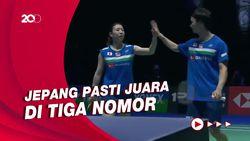 Tanpa Indonesia dan China, Jepang Dominasi All England 2021