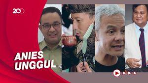 Anies Hingga Prabowo Jadi Capres Teratas Pilihan Anak Muda Versi Indikator