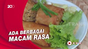 Gurih Manis Lumpia Semarang, Yuk Lihat Cara Bikinnya!