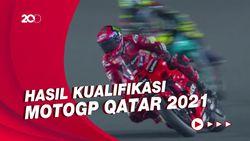 Bagnaia Start dari Posisi Terdepan di MotoGP Qatar, Rossi Keempat