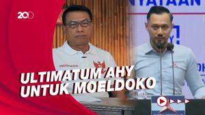 Moeldoko Bicara Pertarungan Ideologi di PD, AHY Bingung