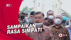 Datangi Gereja Katedral Makassar, JK: Ini Masalah Kemanusiaan