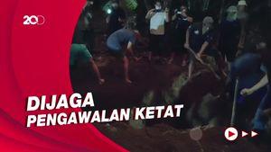 Suasana Pemakaman Pasutri Bomber Gereja Katedral Makassar