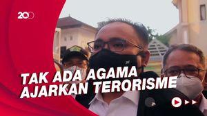 Momen Menag Tinjau Gereja Katedral Makassar