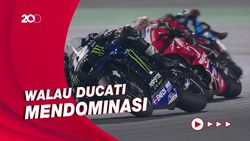 Vinales Juarai Seri Pembuka MotoGP 2021 Qatar