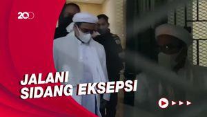 Dibawa Mobil Tahanan, Habib Rizieq Langsung Menuju PN Jaktim