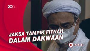 Eksepsi Rizieq Singgung Acara Jokowi, Jaksa: Tidak Tepat