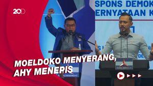 Saling Sikut Moeldoko-AHY soal Ideologi